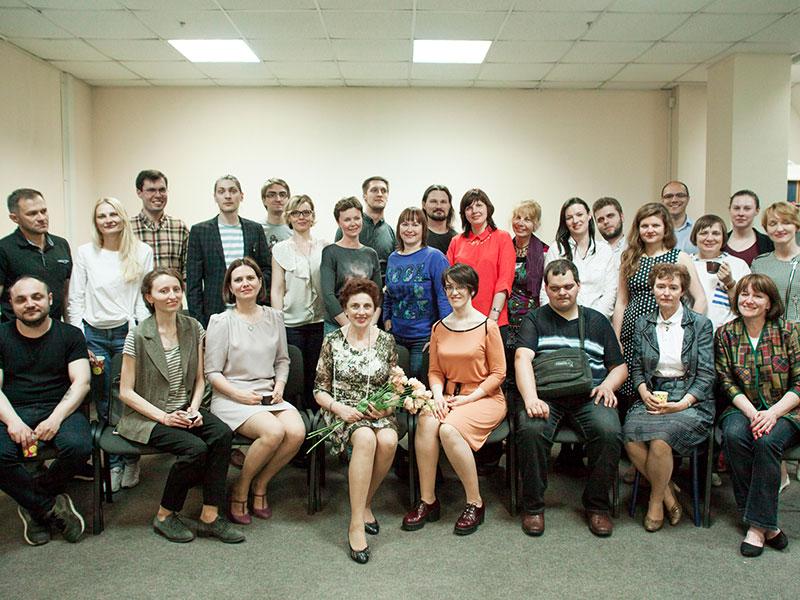 Выпускное занятие 114 группы курса «Основы риторики»